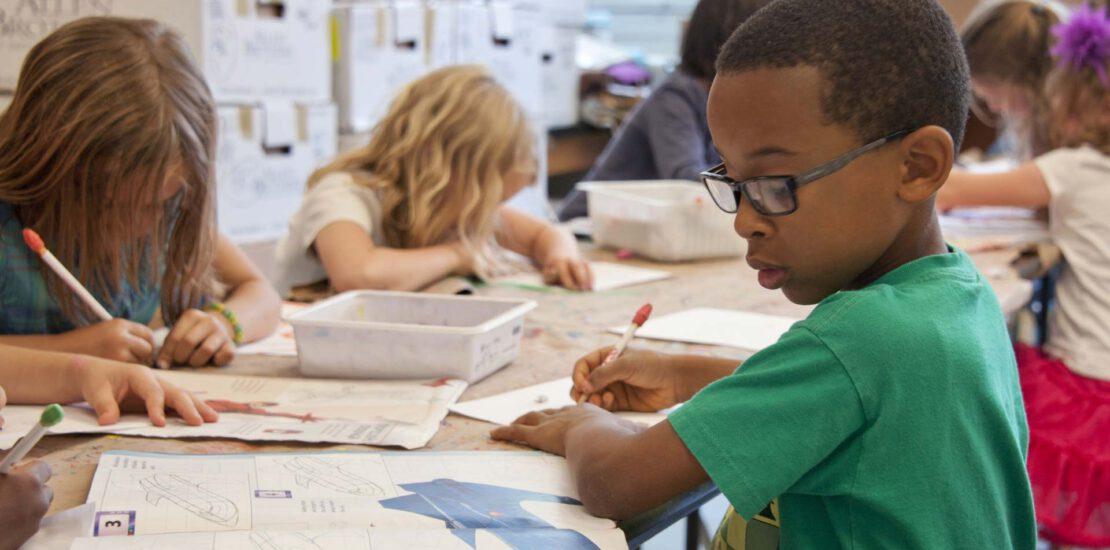 Afslag Bloei in het belang van het kind klassenfoto